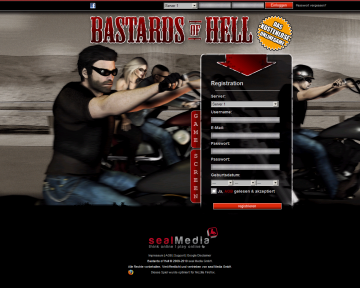 browsergames bastardsofhell Bastards of Hell   Das Biker Browsergame